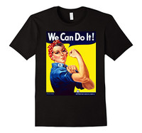 Rosie the Riveter T-Shirt Black