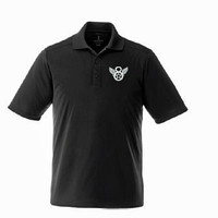 Mighty 8th Performance Polo - Black