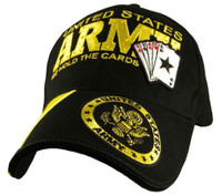 Army Baseball Cap - We Hold The Cards