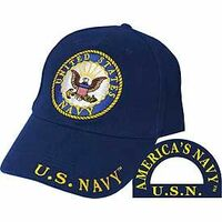 U.S. Navy Round Seal Baseball Cap