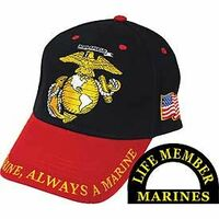 Once A Marine, Always A Marine Baseball Cap