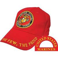United States Marine Corps; The Few, The Proud Baseball Cap