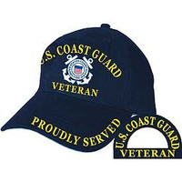 U.S. Coast Guard Veteran Baseball Cap