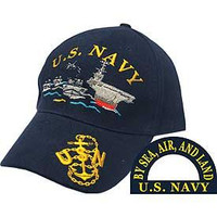 U.S. Navy Ship Fleet Baseball Cap