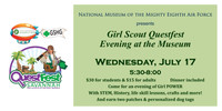 GIRL SCOUT QUEST: EVENING AT THE MUSEUM (ADULT)