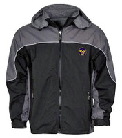 Micro Fiber Reversible Jacket Black & Charcoal
