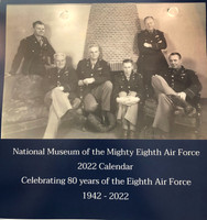 2022 Calendar - Celebrating 80 Years of the Eighth Air Force