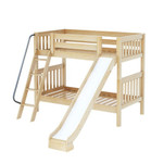 Medium High Bunk w/ Angle Ladder & Slide