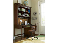 Taylor Desk & Desk Hutch - Cherry
