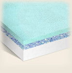 Eco-Friendly Memory Foam Mattress BSF-1040G