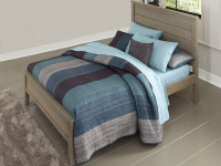 Seaview Panel Bed Full Driftwood