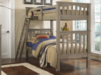 Seaview Bunk Bed Twin over Twin - Driftwood