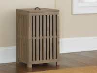 Seaview Clothes Hamper - Driftwood