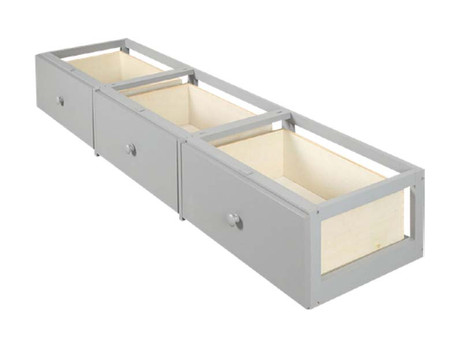 Bedroom Basics 3 Drawer Underbed Storage Unit Long Island Ny