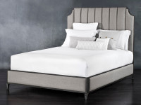 Spencer Surround Upholstered Iron Bed