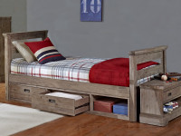 Cambridge Half Bunk Bed With Trundle Bedroom Source
