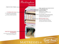 Gold Bond Buckingham Plush Mattress