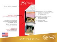 Gold Bond Comfort Collection 200 Plush Mattress