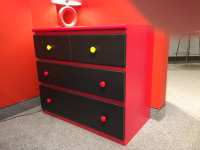 Split Top Chest - 2 Drawers over 2 Drawers - Floor Sample
