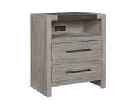 Key Biscayne Metal Nightstand