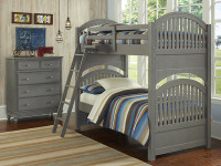 Lakeview Bunk Bed Twin/Twin - Grey