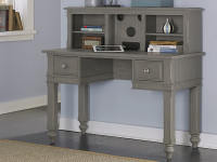 Lakeview Entertainment Hutch - Grey