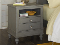 Lakeview Nightstand - Grey