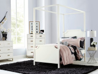 Gramercy Park Canopy Bed - Twin