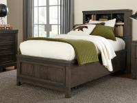 Farmhouse Bookcase Bed - Full