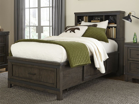 Pictured with storage footboard.