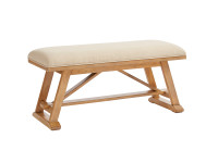 Dylan Bed End Bench - Honey