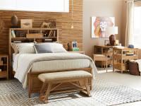 Dylan Storage Bed Full - Honey
