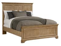 Dylan Panel Bed Queen - Honey