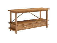 Dylan Low Bookcase - Honey