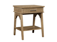Dylan Bedside Table - Honey