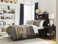 Dylan Storage Bed Full - Tobacco