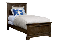 Dylan Panel Bed Twin - Tobacco