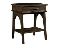 Dylan Bedside Table - Tobacco
