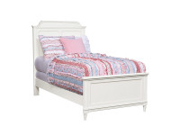 Juliette Panel Bed Twin - White