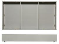 Juliette Trundle Bed Storage Drawer - Grey