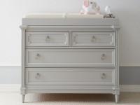 Juliette Single Dresser - Grey