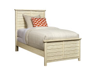 Union Square Panel Bed Twin - French Vanilla