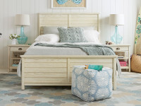 Union Square Panel Bed Queen - French Vanilla