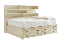 Union Square Storage Bed Full - French Vanilla