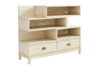 Union Square Low Bookcase - French Vanilla