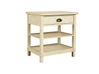 Union Square Bedside Table - French Vanilla