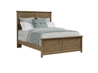 Union Square Panel Bed Queen - Amaretto
