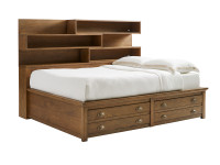 Union Square Storage Bed Full - Amaretto