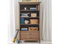 Union Square Bookcase - Amaretto