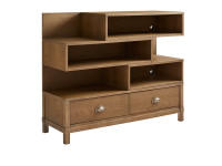 Union Square Low Bookcase - Amaretto